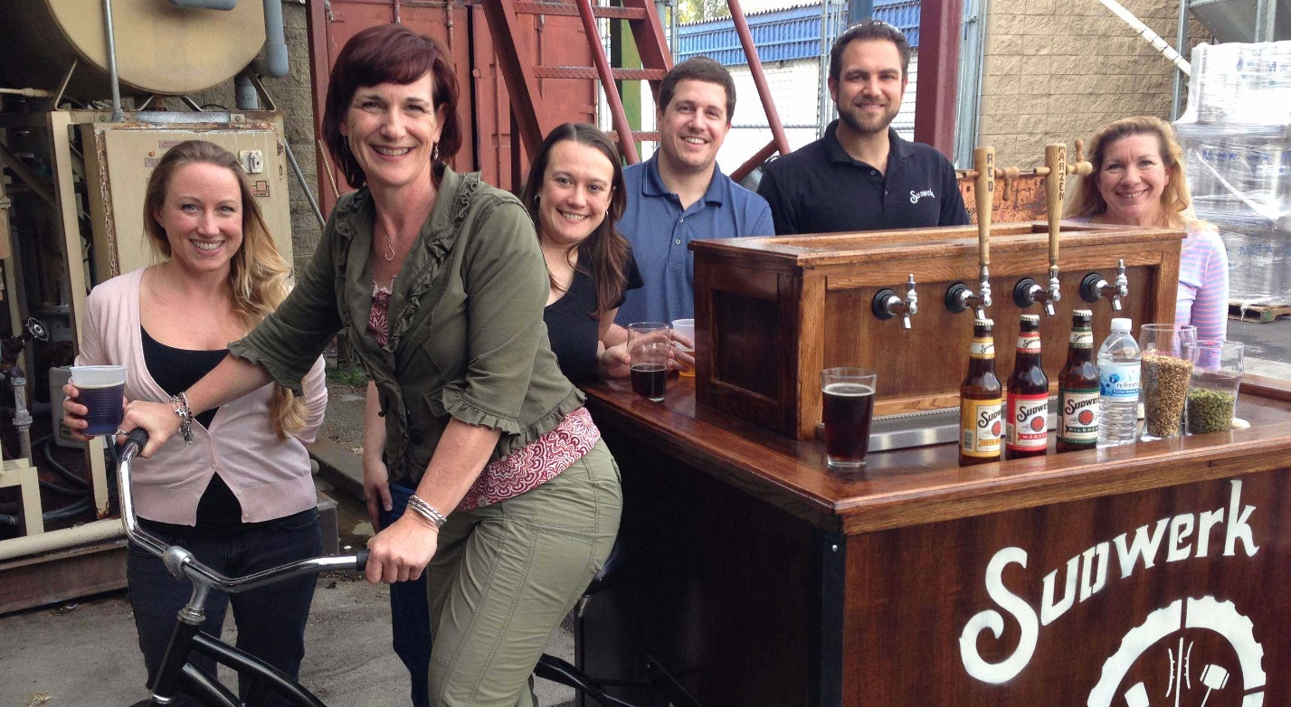 Soroptimists & the Sudwerk Beer Cart