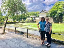SI Davis members Emily and Wendy in Yokohama, Japan for the Soroptimist International of the America
