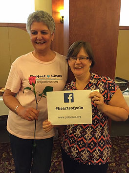 Recipients of two of Soroptimist International of Davis' community grants