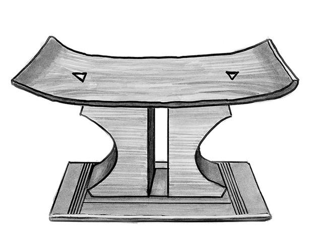 An Akan stool