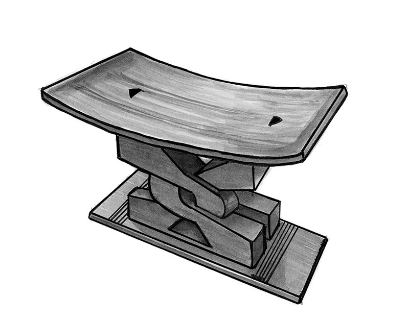 Nana's stool