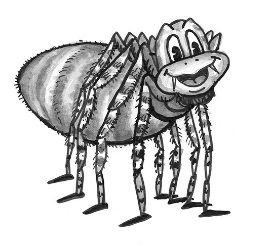 Kwaku Ananse, the spider