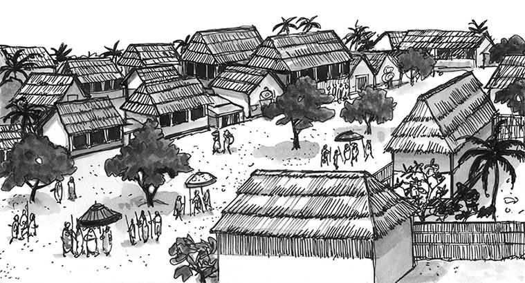 Adopm Street in Kumasi