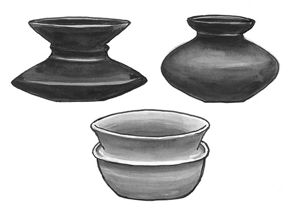 Akan pottery