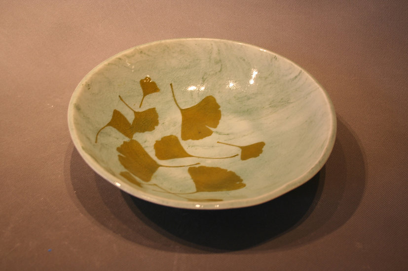 Medium gingko bowl