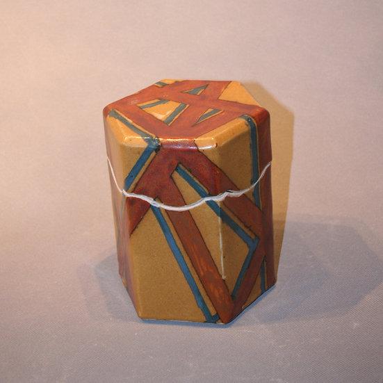 Multi striped box