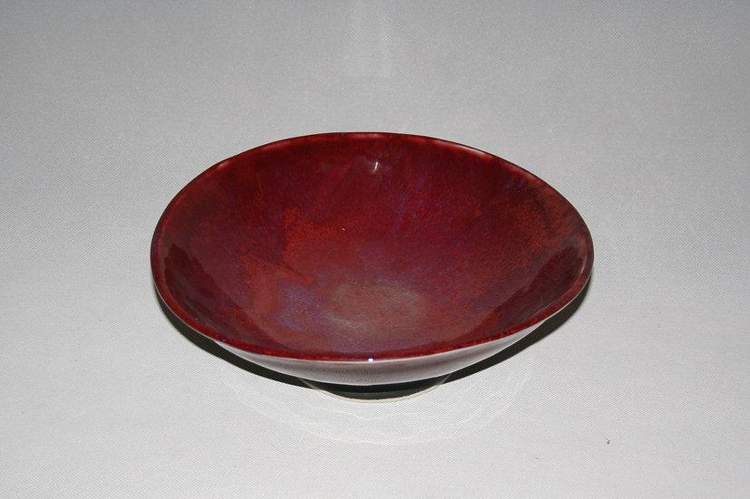Medium copper red bowl