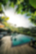 Fotografia de hoteles en costa rica interiores exteriores arquitectura piscina vacaciones turismo