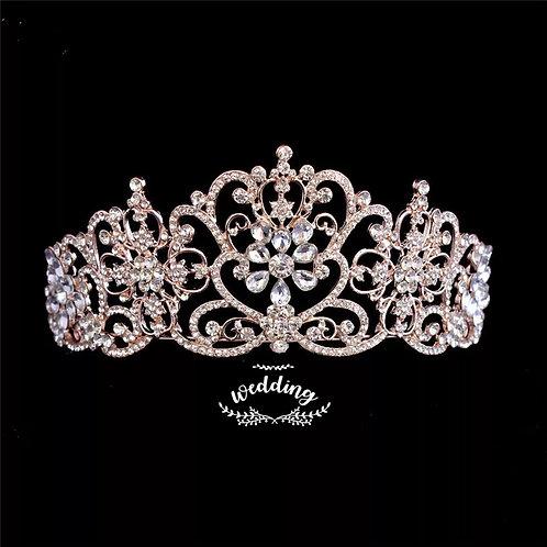 Stunning Rose Gold Wedding Tiara/Headpiece