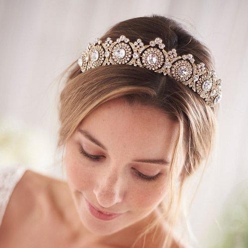 Beautiful Handmade Bridal Tiara with Crystals