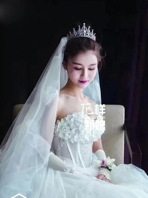 Lovely Handmade Bridal Tiara with stunning Swarovski Crystals