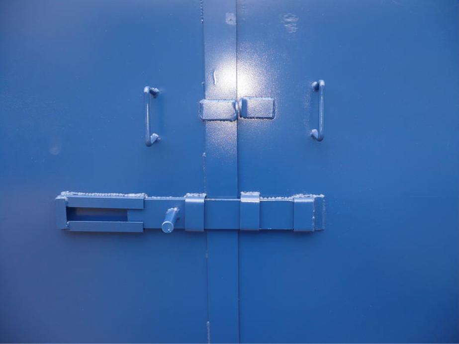 Standard storage container lock