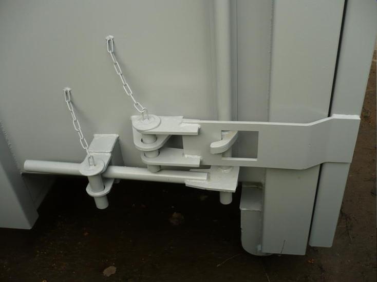 3 part locking mechanism