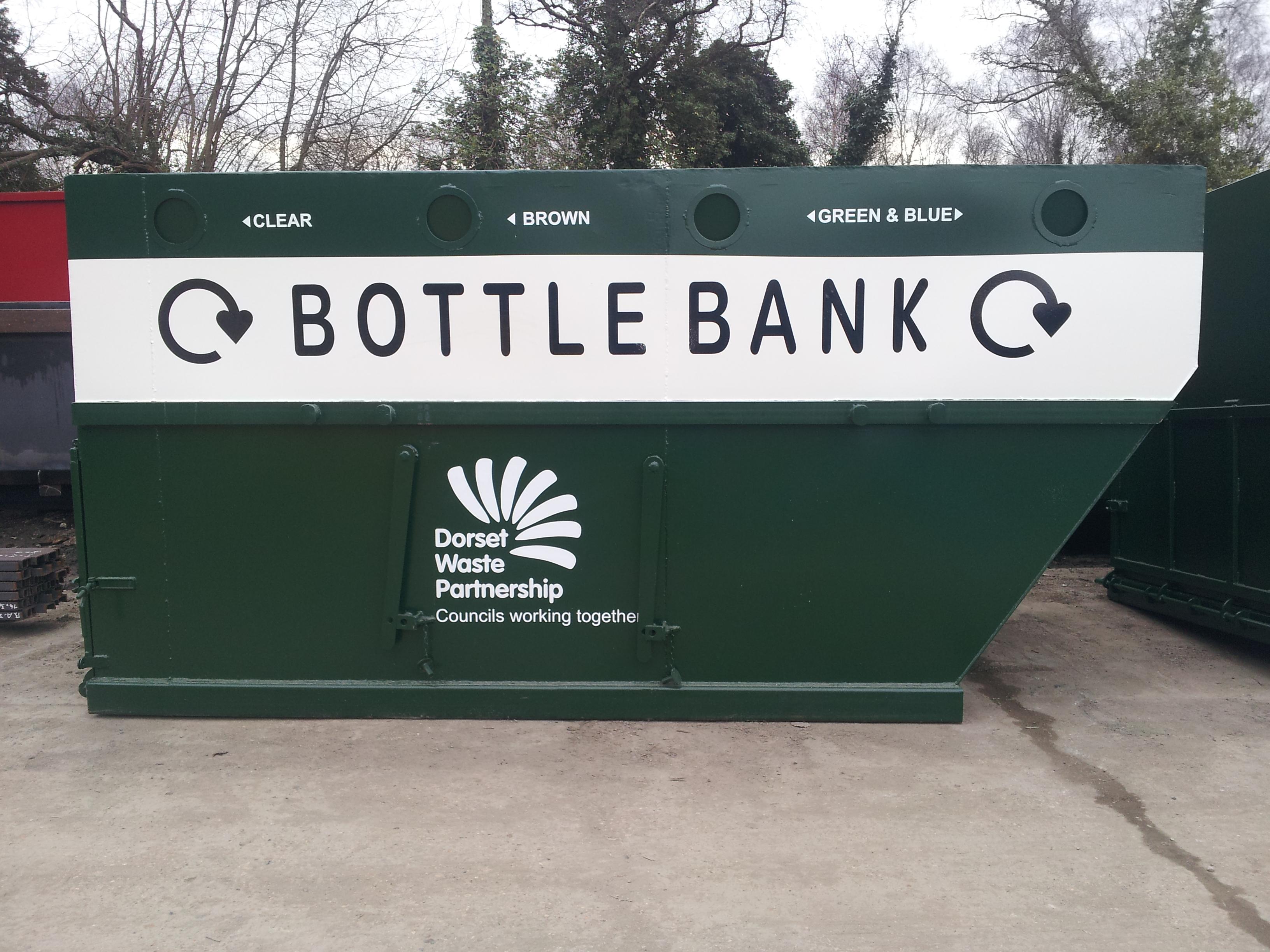 14 yard bottle bank