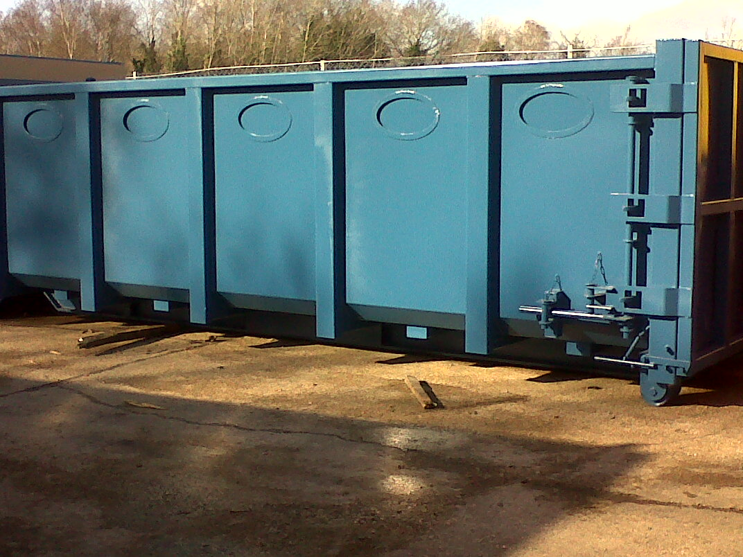 25 yard recycling bank