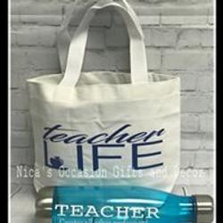 Custom Teacher Appreciation Basket