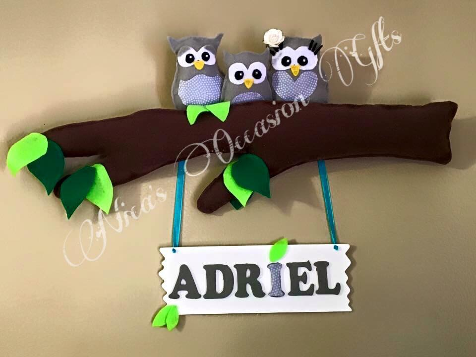 Handmade Nursery Wall Art