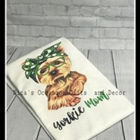 Yorkie Mom T-Shirt