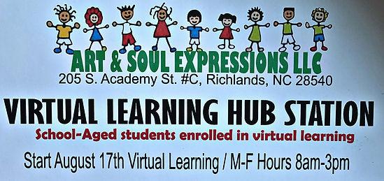 Virtual Learning Hug Station