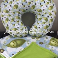 Custom Nursing Pillow & Blanket