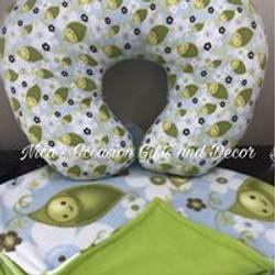Custom Nursing Pillow & Blanket