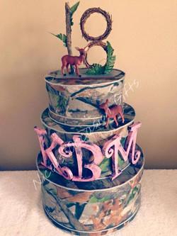 Custom Keepsake Box Cake