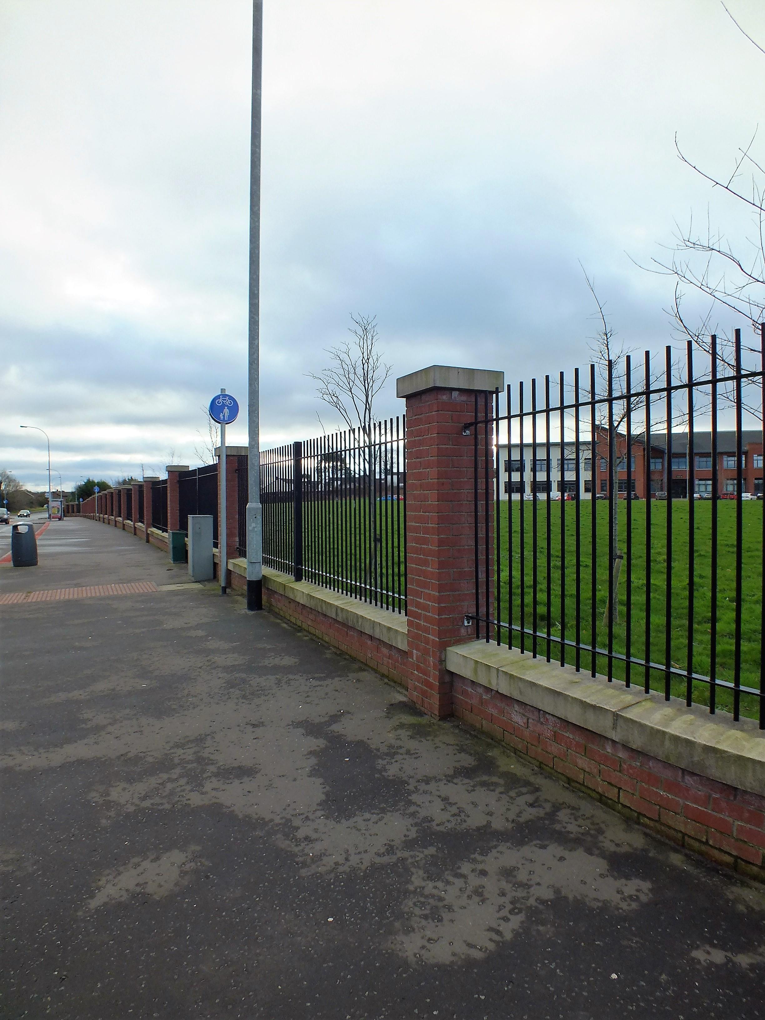 Boundary wall & railings
