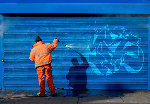 Graffiti removal, Steam cleaning, Graffiti steam cleaning removal, Removing graffiti, Pressure washing, Jet washing