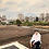 Thumbnail: アメフトパーカーホワイト(薄い) - 2XL