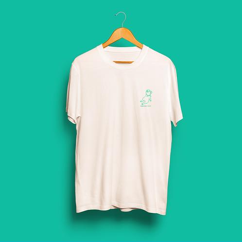 激情豚Tシャツ アイボリー