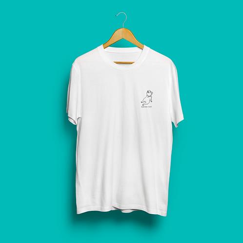 激情豚Tシャツ ホワイト
