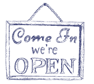 """""""Open"""" Sign"""