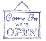"""Open"" Sign"