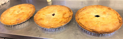 Fresh pies