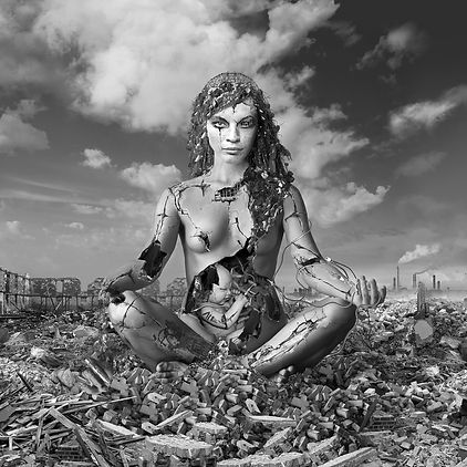 Madonna On Rubble Throne.jpg