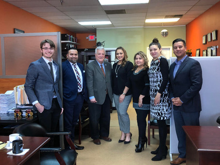 Rep. Walker Meets with Northwest Hispanic Chamber of Commerce