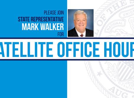 Walker's Office to Host Virtual Office Hours