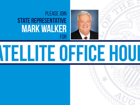 Walker's Office to Host Virtual Office Hours
