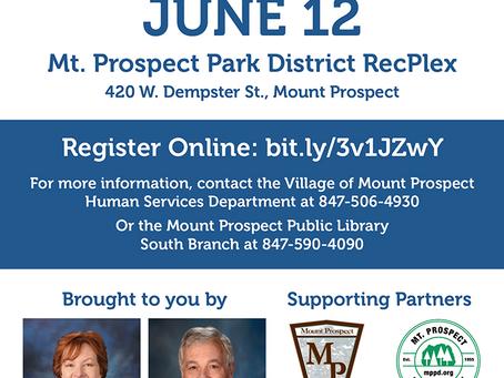 Rep. Walker, Sen. Gillespie Offer Pfizer Vaccine Event with Mount Prospect Partners