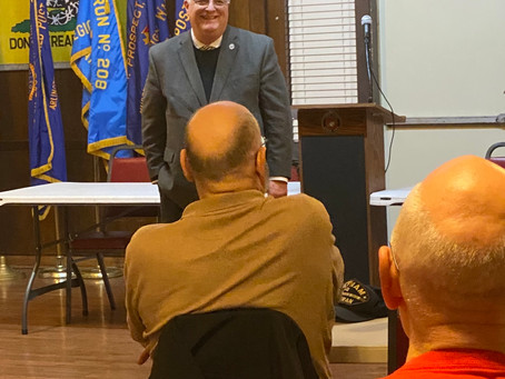 Rep. Walker Discusses Veterans' Issues, Services at Town Hall