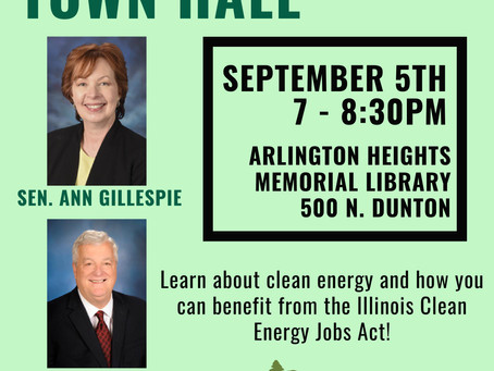 Walker to Host Clean Energy Town Hall