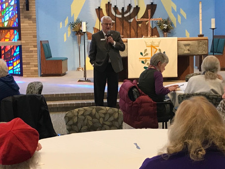 Walker Hears from Residents at Lutheran Home Town Hall
