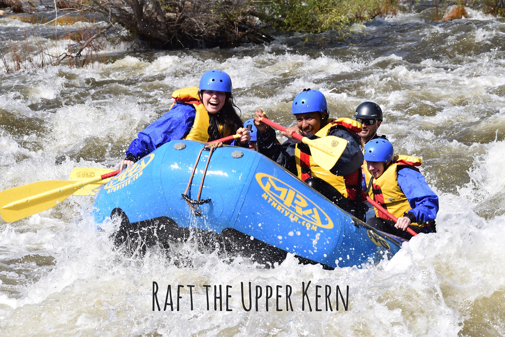 Class III-IV whitewater on the Upper Kern.