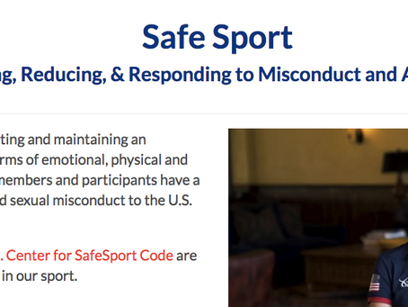 Friendly Reminder: USEF Safe Sport Training