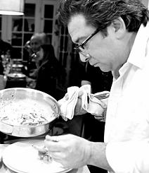 Chef Alex in Kitchen