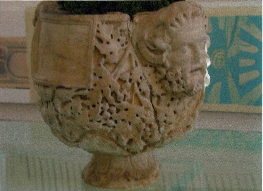 Roman Imperial Marble Cinerary Urn