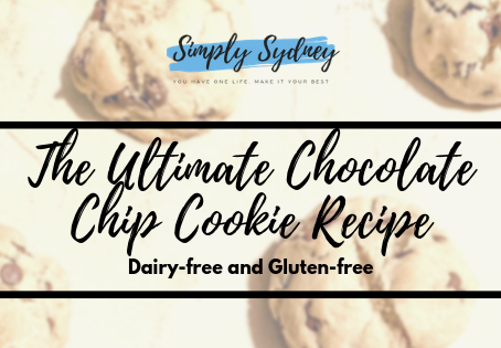 The Ultimate Dairy-Free and Gluten-Free Chocolate Chip Cookie Recipe