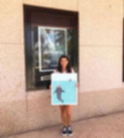 Taylor Cavazos Zen Zone Miami Patagonia Art Fundraiser