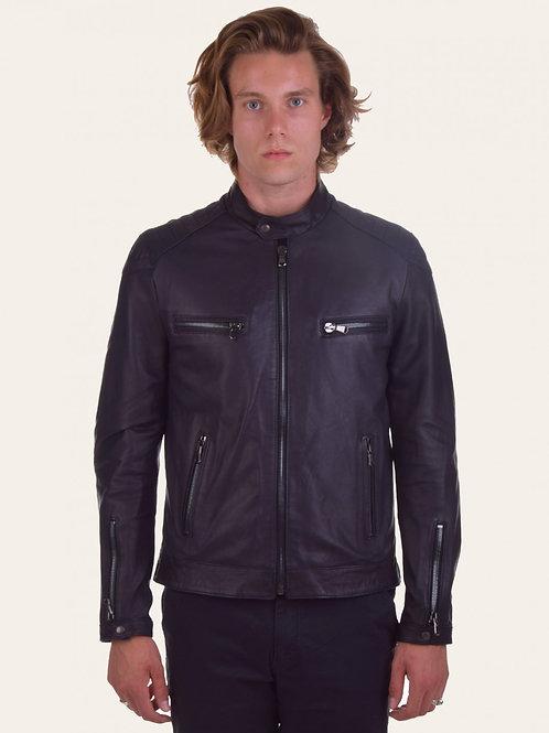 Michele Gold Leather Jacket