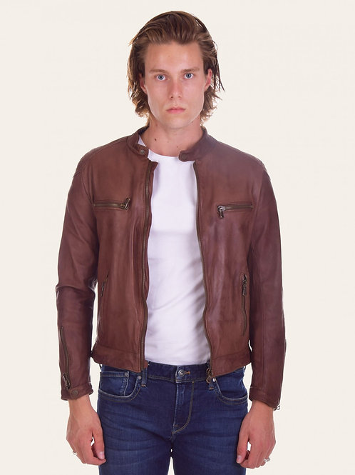 Michele Gold Vintage Leather Jacket